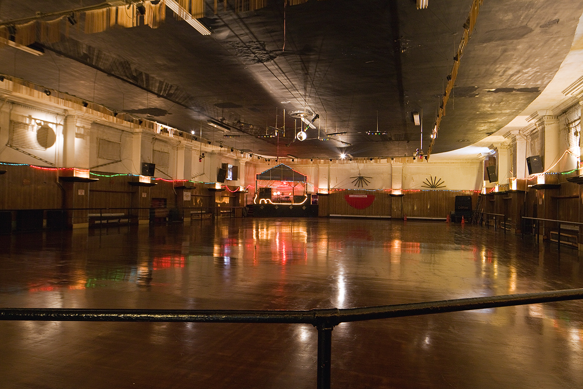 Roller skating rink kendall park nj - Carman Gardens At Germantown And Allegheny Avenues In North Philadelphia Is The Only Remaining Theater Turned Roller Rink Open Today