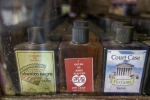 botanica-products-for-sale-behind-vintage-glass-display
