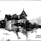 Design of residence for Wallace Munn, 1891
