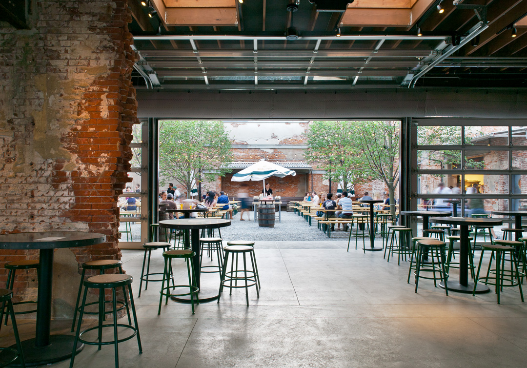 a beer garden, philly-style | hidden city philadelphia