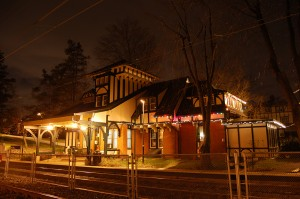 Mt Airy train station