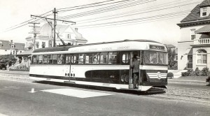 JG Brill-built Atlantic City 6911 in Ventnor 1940 Collection of Jeff Marinoff