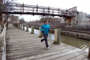 Manayunk Towpath January 2 2012