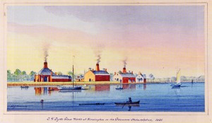 Dyott Glass Works 1831
