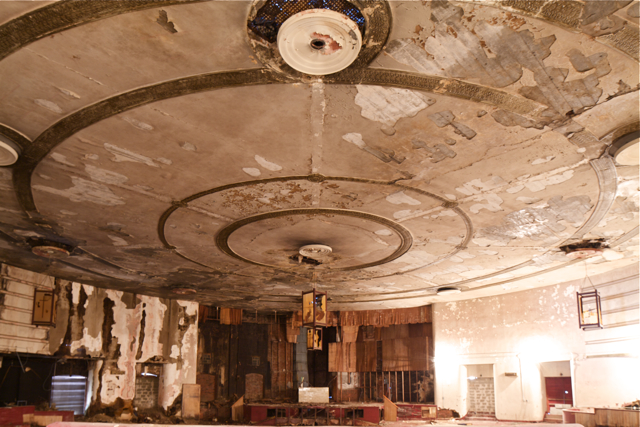 Tioga Theater interior | Photo: Peter Woodall