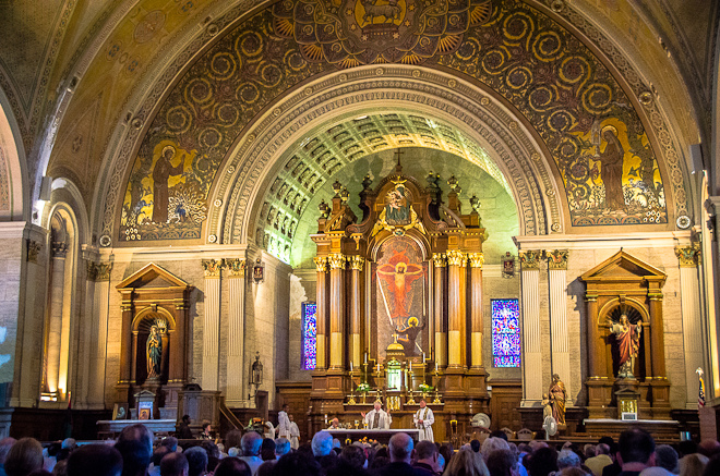A final mass was held at S. Francis on June 26, 2012. | Photo: Theresa Stigale
