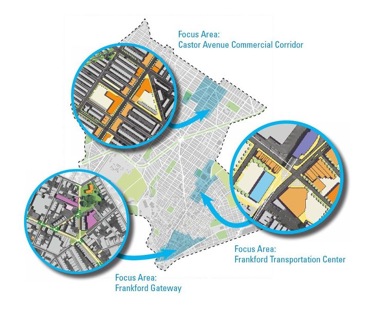 Lower Northeast Focus Areas | Image: City Planning Commission