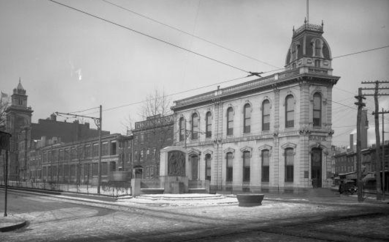 "12th & Spring Garden, ""Eraserhood,"" 1916 