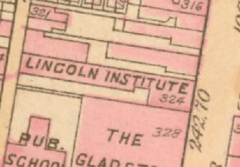 """Lincoln Institute"" 