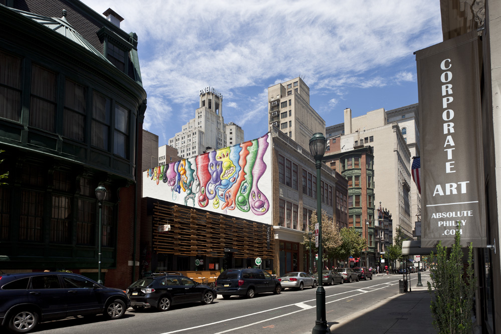 """Philly Chunk Pack,"" by Kenny Scharf 