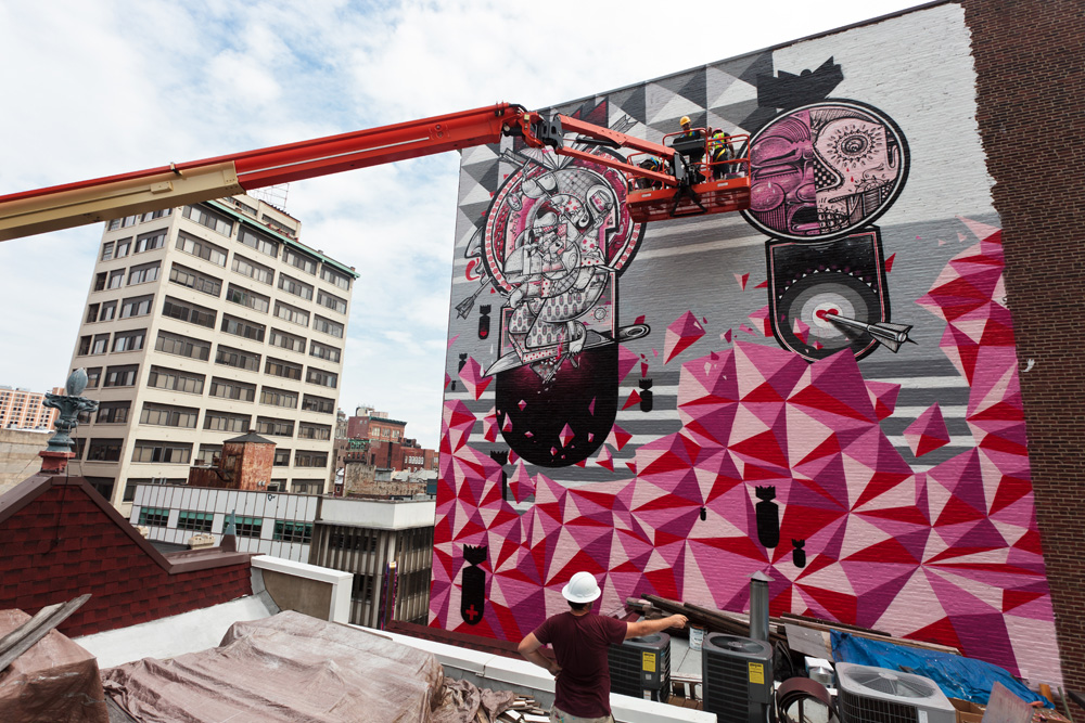 """Personal Melody,"" by How and Nosm in progress 
