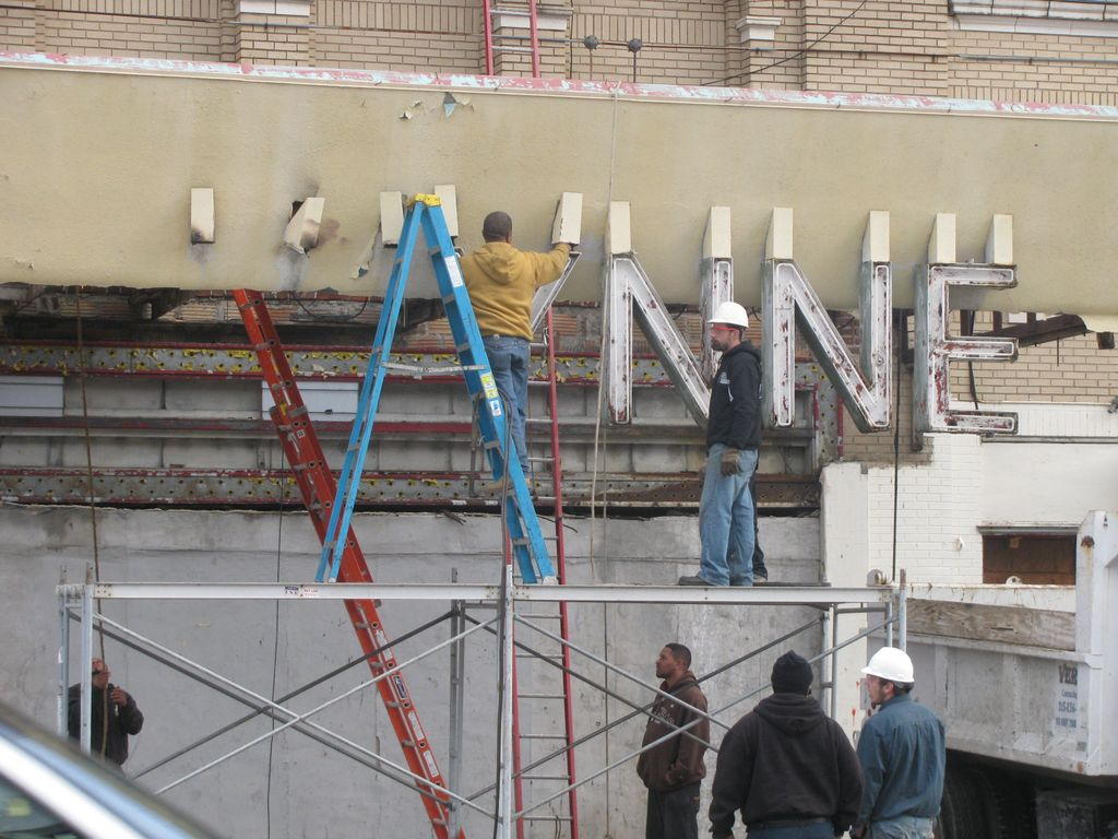 The characteristic letters being removed in December 2011