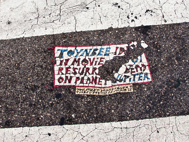 4th and South Street Toynbee Tile | Photo by Steve Weinik