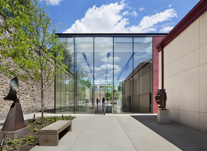 Edgar N. Putnam Event Pavilion, James A. Michener Art Museum Kieran Timberlake Architects | Photo: Michael Moran, OTTO