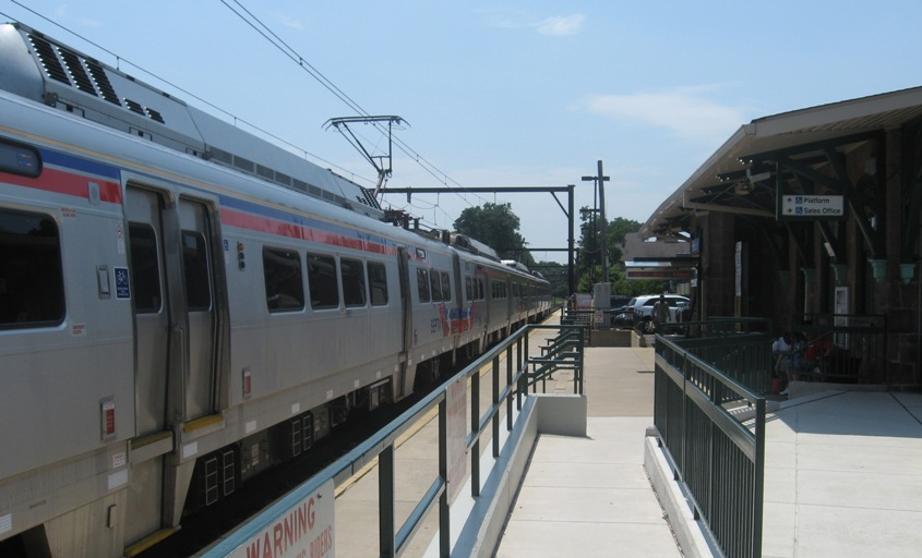 ...but what do you do at a station like Doylestown? Proof-of-payment fare collection solves the problem - and there's a technology out there that could make it paperless, a key goal for SEPTA. | Photo: Sandy Smith