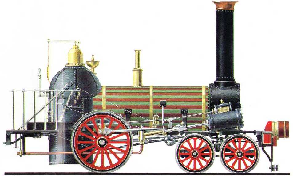 A late 1830s Norris locomotive.