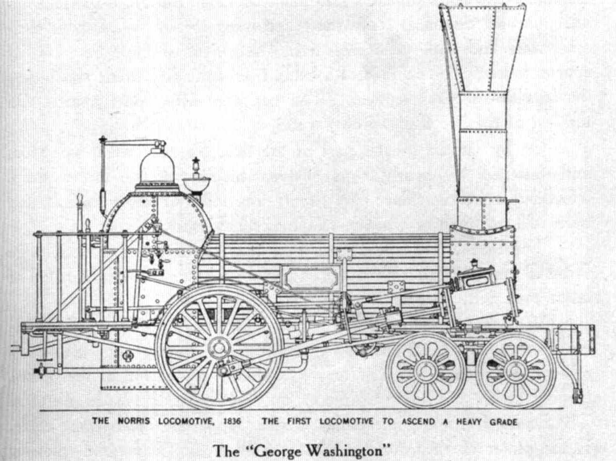 G. Washington locomotive