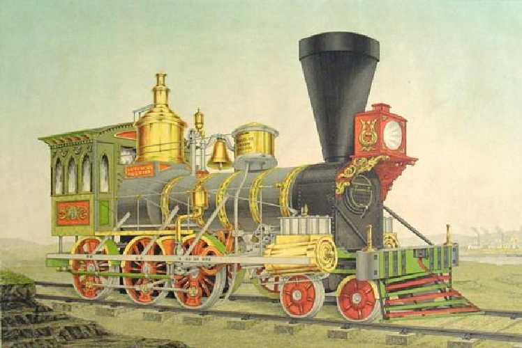 A Norris locomotive.