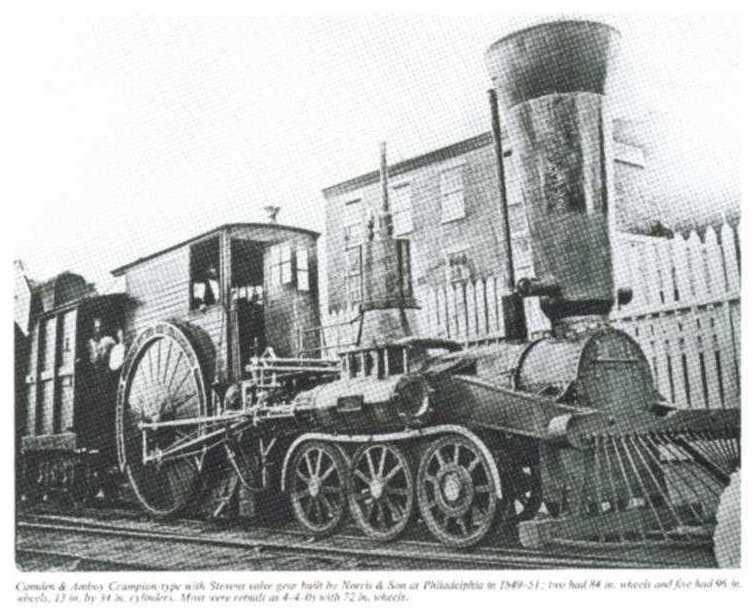 Another Norris locomotive.