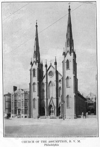 The Church of the Assumption in 1919