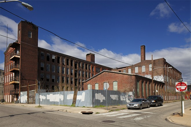Thomas W. Buck hosiery mill | Photo: Peter Woodall