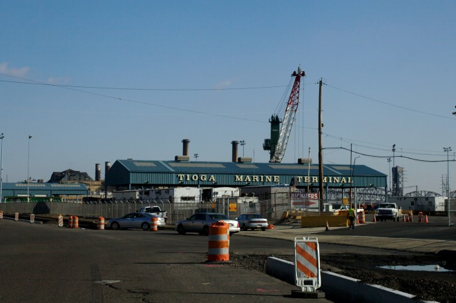Tioga Marine Terminal | Photo: Peter Woodall