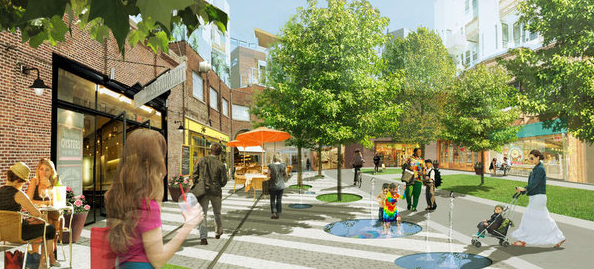 Canal Street North, artist's rendering