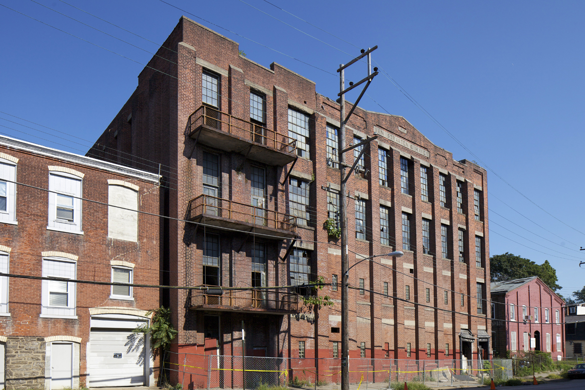 Former Van Stratten & Havey silk mill | Photo: Peter Woodall