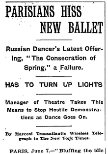New York Times, June 7, 1913