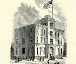 Central High School, southeast corner of Broad and Green Streets (birthplace of electromagnetic energy transmitted through free space?)