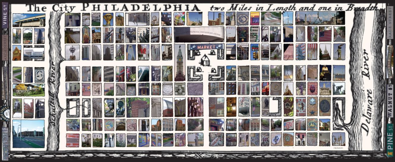 Philadelphia Postermap | Image: Nate Emeritz