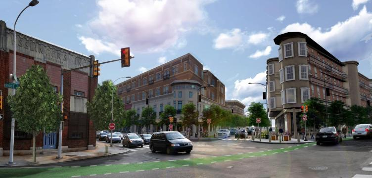 Rendering of 10th &amp; Ridge