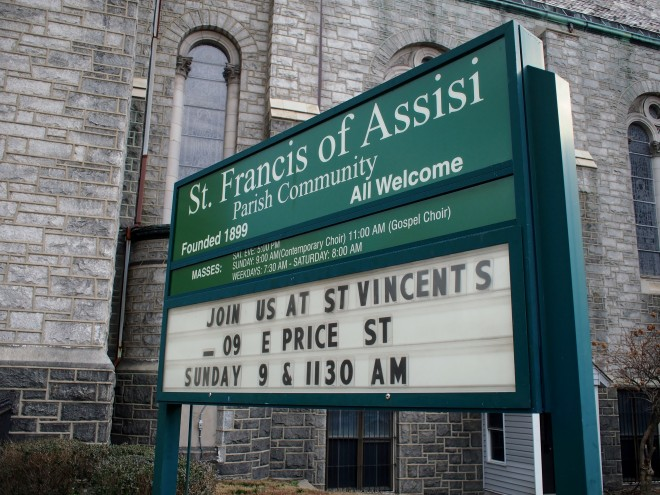 St. Francis of Assisi, Greene and Logan, Germantown | Photo: Nathaniel Popkin