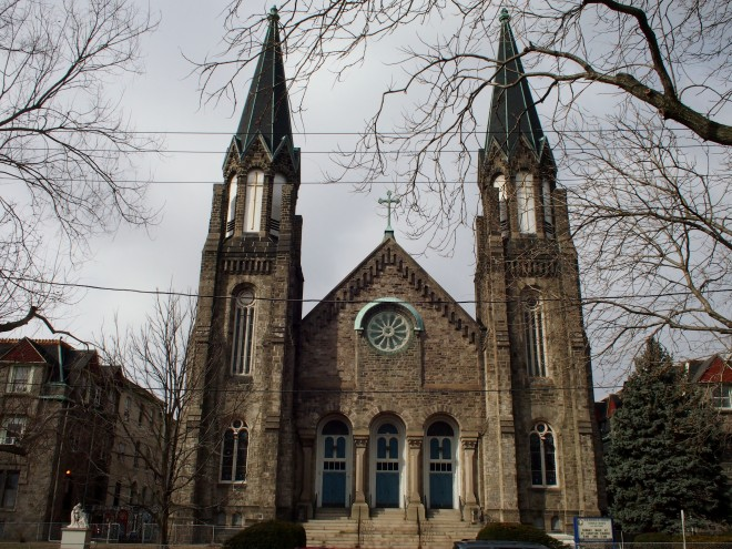 Our Lady of Sorrows, 48th and Lancaster | Photo: Nathaniel Popkin