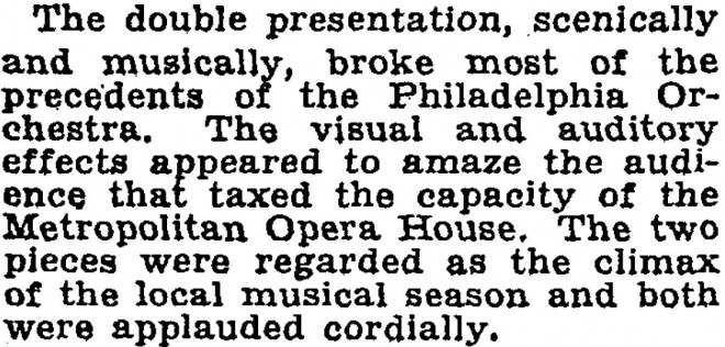 New York Times, April 12, 1930