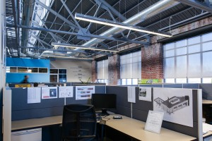 Core States Group is among those who've opened offices in the Ambler Boiler House   Photo: Dominic Mercier
