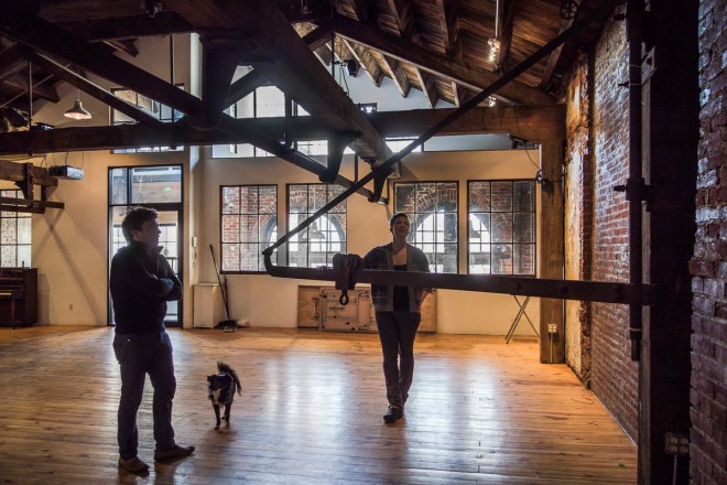 Catherine Birdsall and Ben Reisman, developers of the Maas Building in Kensington | Photo: Theresa Stigale