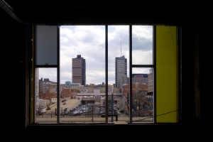 Mondrian, modified: looking south from the 2nd floor | Photo: Bradley Maule