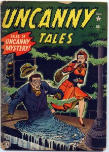 Uncanny Tales, 1952. Drawn by Joe Maneely on the Fifth Floor of the old Northeastern