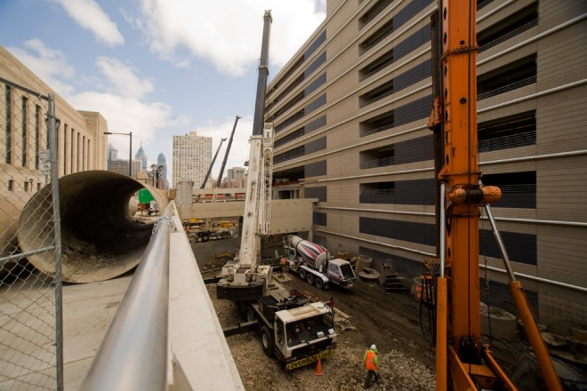 Shovels are in the ground: The Grove at Cira Centre South is under construction | Photo: Bradley Maule