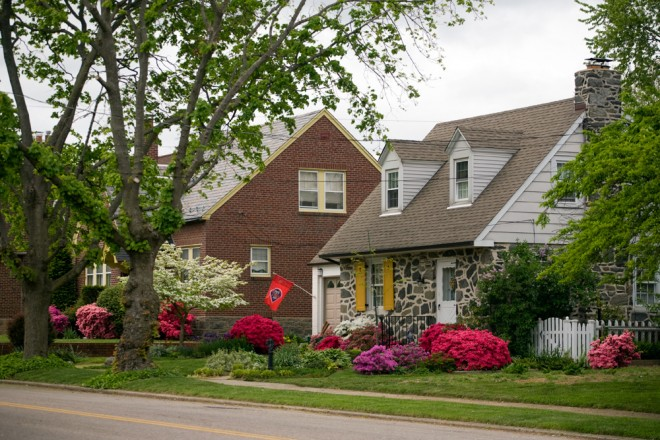 The lush, green, diverse streets of Oxford Circle in Northeast Philadelphia | Photo: Bradley Maule
