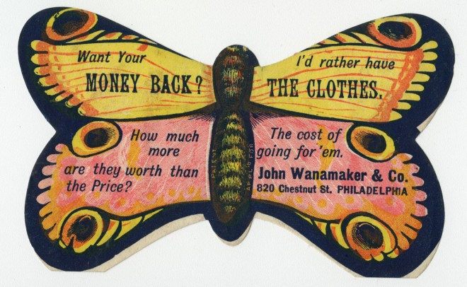 John Wanamaker will tell you what he thinks of your request for a refund. | Image: Library Company of Philadelphia