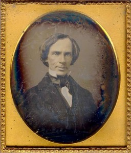 Thaddeus Hyatt, photographed by Mathew Brady, 1853