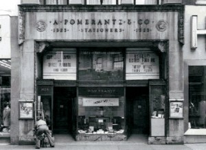 Original storefront, date unknown | Image courtesy the Athenaeum of Philadelphia
