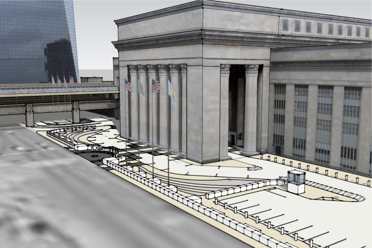New West Entrance to 30th Street Station