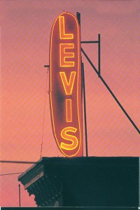 Levis Hot Dog sign | courtesy Davidson Neon