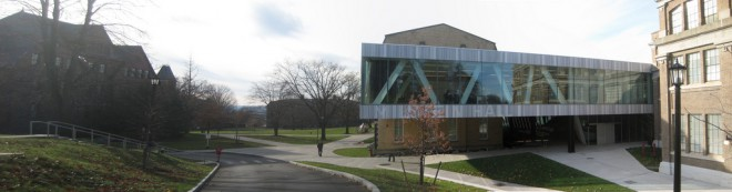 Cornell University's Milstein Hall | Photo: T(h)ed Ferringer under a Creative Commons License