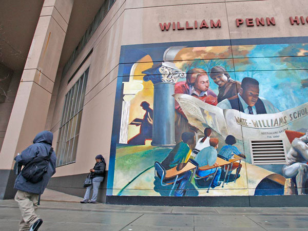 2009 Photo of William Penn High School | Photo: David Maialetti, Daily News