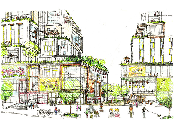 Girard Square rendering via National Real Estate Advisors Development Services
