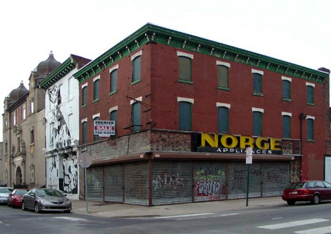 Norge appliance storefront, circa 2006 | Photo: Bradley Maule